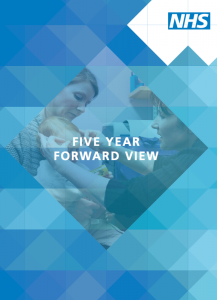 NHS Five Year Forward View