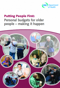 Personal budgets for older people - making it happen