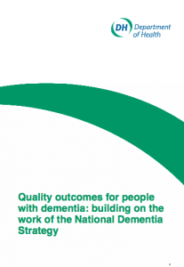 Quality outcomes for people with dementia