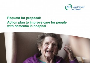 Request for proposal: action plan to improve care for people with dementia in hospital