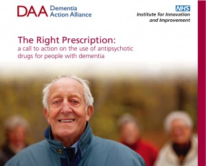 The Right Prescription: a call to action on the use of antipsychotic drugs for people with dementia