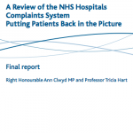 A review of the NHS hospitals complaints system: putting patients back in the picture