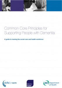Common core principles for supporting people with dementia