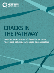 Cracks in the pathway