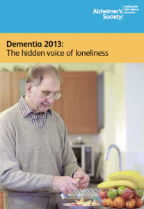 Dementia 2013: The hidden voice of loneliness