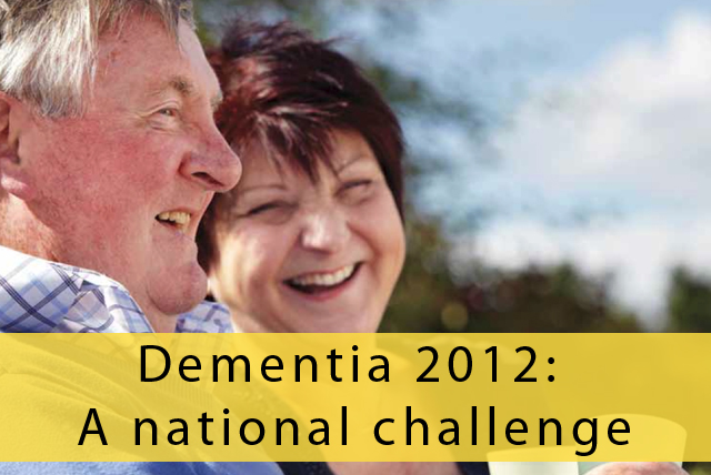 Prime Minister's challenge on dementia