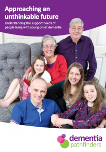 Approaching an unthinkable future - Understanding the support needs of people living with young onset dementia