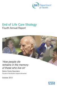 End of Life Care Strategy: Fourth Annual Report