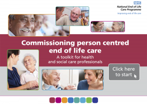 Commissioning person-centred end of life care