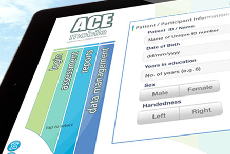 ACEmobile dementia assessment tool