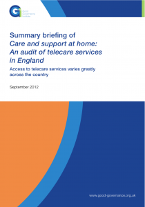 Audit of telecare services in England