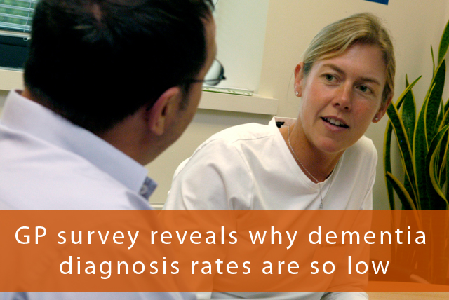 GP survey reveals why dementia diagnosis rates are so low