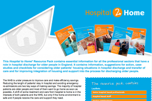 Hospital 2 Home discharge pack