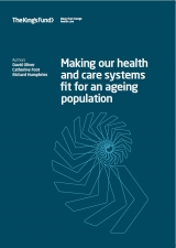 Making our health and care systems fit for an ageing population