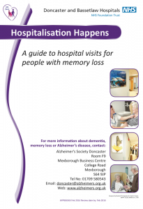 Hospitalisation Happens: A guide to hospital visits for people with memory loss