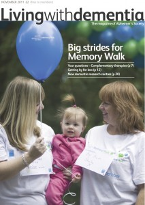 Living with dementia magazine November 2011