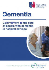 Commitment to the care of people with dementia in hospital settings