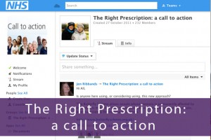 Join the Right Prescription on-line community