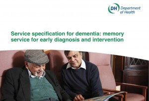 Service specification for dementia: memory service for early diagnosis and intervention