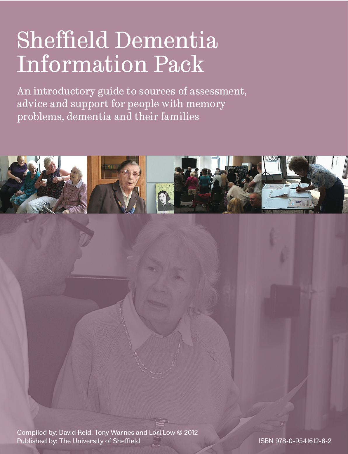 Sheffield dementia information pack