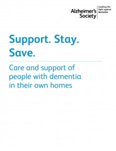 Support, Stay, Save: care and support of people with dementia in their own homes