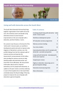 Living well with dementia bulletin, autumn 2011