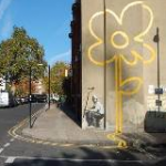 Banksy in Bethnall Green