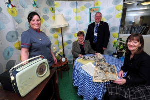 The reminiscence pod at the Bristol Royal Infirmary